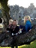 Thank you to Jane Pratt for this lovely photo of her Grandchildren enjoying their time at Ashford Castle after their Hawk Walk with us.