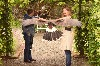 I love this photo of Don & Angelica Troshynski flying Swift & Stoker in the gardens of Ashford Castle, it is such an amazing photo.