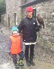 Thank you to John Kenny & little Leo, aged 5 yrs, who sent this great photo from their recent Hawk Walk where they flew wonderful Inca with us.